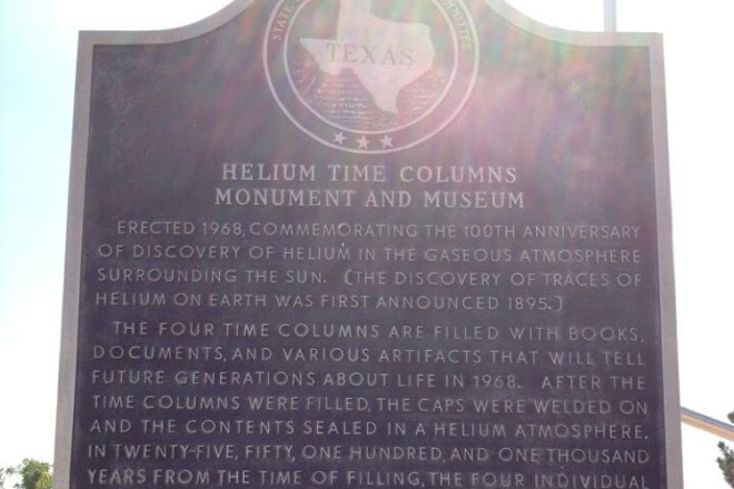 Helium Monument, Amarillo, United States