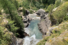 Lillaz Waterfalls, Cogne, Italy