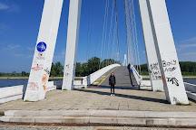 Pedestrian Bridge, Osijek, Croatia