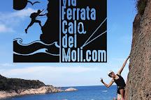 Via Ferrata Cala del Moli, Sant Feliu de Guixols, Spain