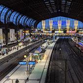 Железнодорожная станция  Hamburg