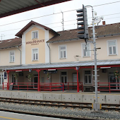 Железнодорожная станция  Horazdovice Predmesti