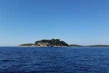 Island Galesnik, Hvar, Croatia