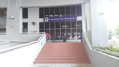 Perpustakaan Tun Abdul Razak Ptar 3 Selangor