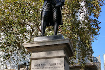 Robert Raikes Statue, London, United Kingdom