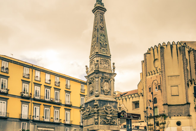 Piazza San Domenico Maggiore, Naples, Italy