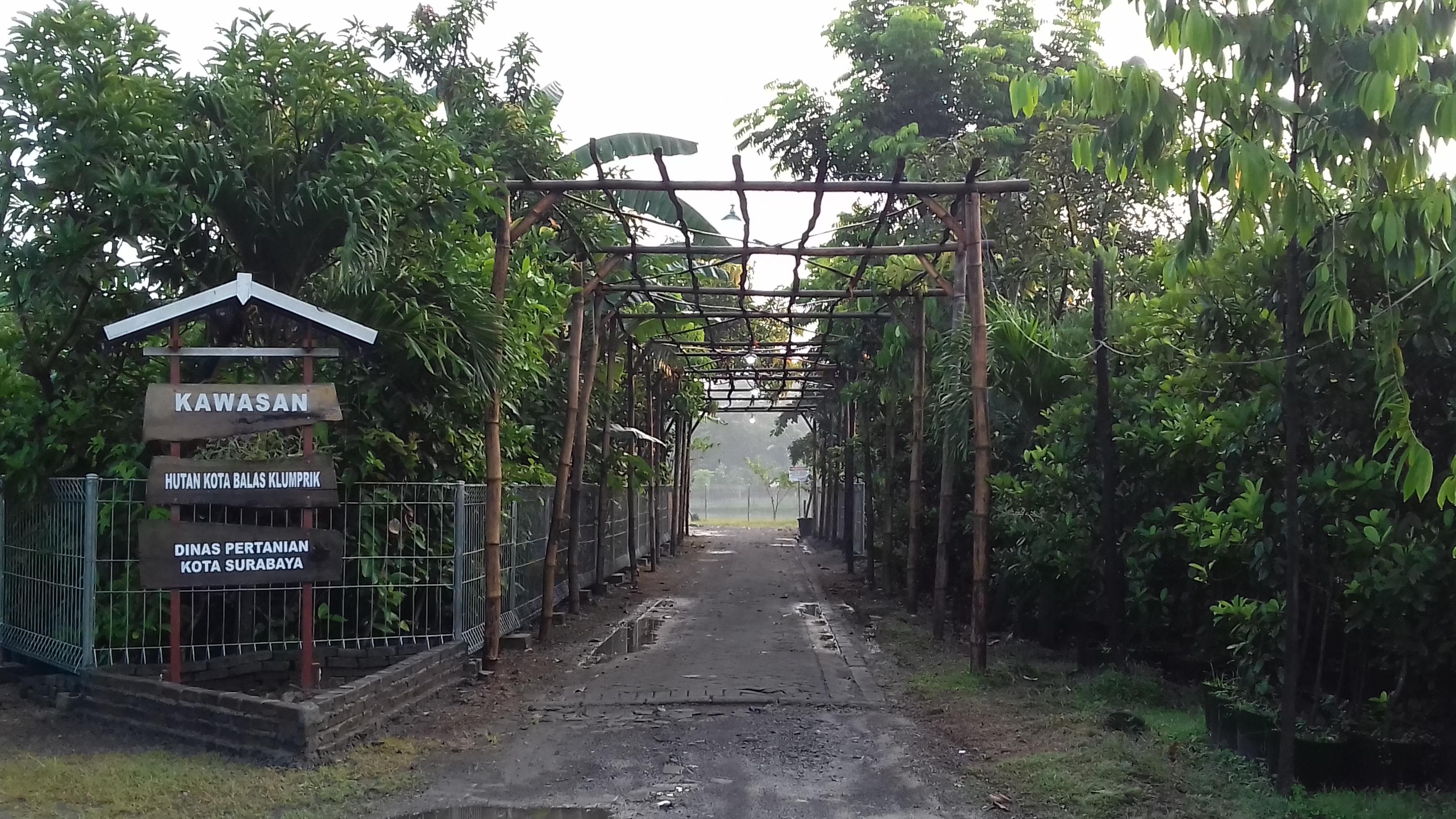 Hutan Kota Balas Klumprik