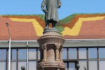 Statue of Zsolnay Vilmos, Pecs, Hungary