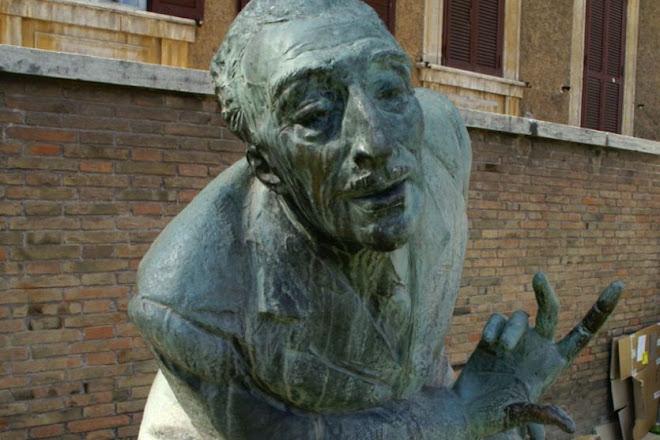 Monumento a Carlo Alberto, Rome, Italy