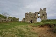 Pennard Castle, Swansea, United Kingdom
