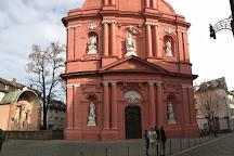 Die Mainzer Zitadelle, Mainz, Germany