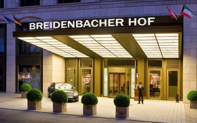 Luxury Hotels in Duesseldorf : Breidenbacher Hof, A Capella Hotel