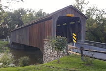 Hunsecker Mill Covered Bridge, Bird in Hand, United States