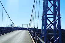 The Regency Suspension Bridge, San Saba, United States