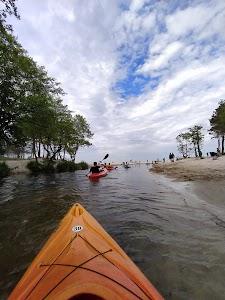 Kajakami po horyzont - Spływy kajakowe rzeką Piaśnica do morza Dębki