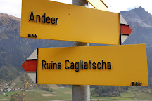 Burg Cagliatscha, Andeer, Switzerland