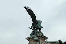 Turul Bird Statue, Budapest, Hungary