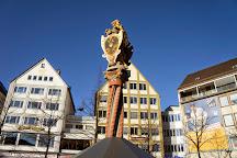 Lowenbrunnen, Ulm, Germany