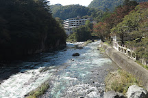 Nanatsuiwa Suspension Bridge, Nasushiobara, Japan