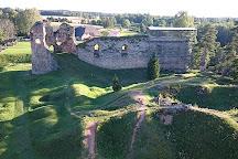 Ruins of the Vastseliina Episcopal Castle, Vastseliina, Estonia