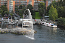 God, our Father, on the Rainbow fountain, Nacka, Sweden