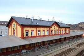Железнодорожная станция  Pribram