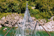 Buller Gorge Swing Bridge, Nelson-Tasman Region, New Zealand