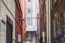 Strong Alley (Graffiti Alley), Knoxville, United States
