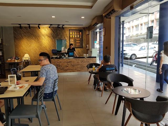 18C Tea Cafe Jalan Yang Kalsom, Taman Jubilee, Ipoh, Perak, Malaysia