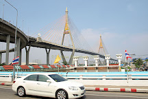 Bhumibol Bridge (Industrial Ring Road Bridge), Bangkok, Thailand