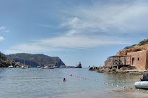 Cala Benirras Beach, Ibiza, Spain