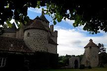 Chateau de Villemonteix, Aubusson, France