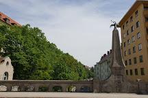 Gebsattelbruecke, Munich, Germany