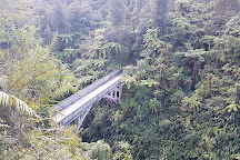 Bridge to Nowhere, Manawatu-Wanganui Region, New Zealand