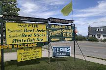 Manley's Fish Market, Saint Ignace, United States