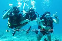 Quiver Dive Team, Pulau Perhentian Kecil, Malaysia
