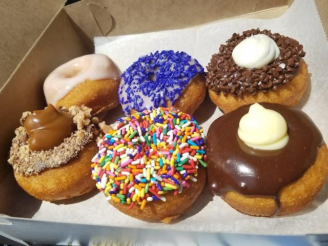 Purple Glaze Donuts