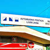 Автобусная станция  Ljubljana