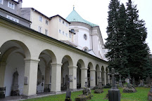 Cemetery of St. Sebastian (Friedhof St. Sebastian), Salzburg, Austria