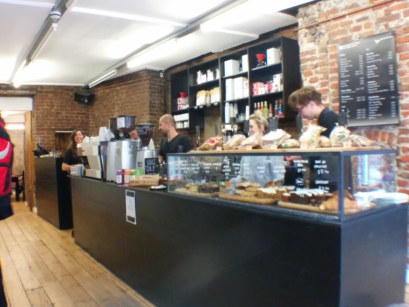 Department of Coffee and Social Affairs: A Work-Friendly Place in London