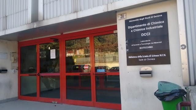 Università degli Studi di Genova - Dipartimento di Chimica e Chimica Industriale
