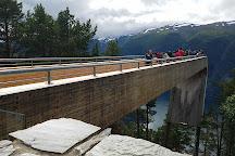 Stegastein Lookout, Aurland Municipality, Norway