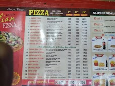 Italian Pizza, Kasur