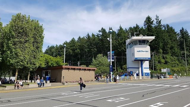BC Ferries Swartz Bay (Victoria) Terminal