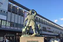 Momotaro Statue, Okayama, Japan