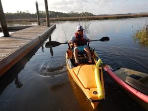Kayak Fishing Charleston