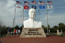 Eisenhower Veterans Monument, Denison, United States