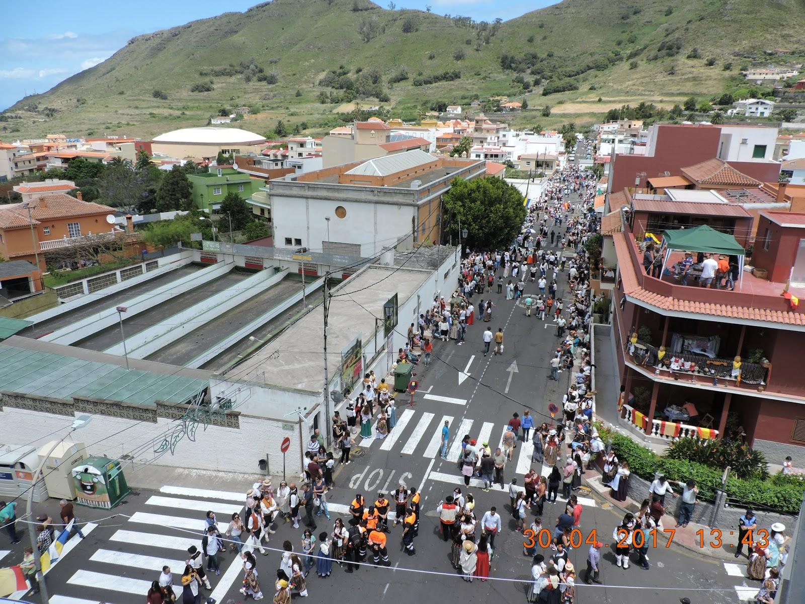 Tejina y Las Chumberas celebran sus actos de Carnaval