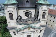 Kostel Sv. Jana Krtitele Se Sochou Sv. Jana Nepomuckeho, Kromeriz, Czech Republic