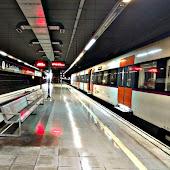 Train Station  El Prat De Llobregat